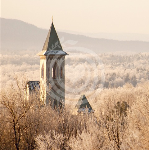 Bell tower in the valley