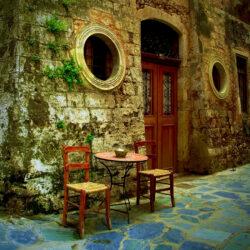 Le rendez-vous, Hania, Grèce